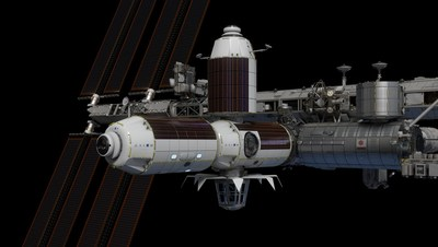 The Axiom modules are targeted to attach to the International Space Station beginning in the latter half of 2024,