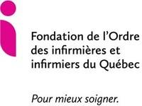 Logo : Fondation de l'Ordre des infirmières et infirmiers du Québec (OIIQ) (Groupe CNW/Fondation de l'Ordre des infirmières et infirmiers du Québec)