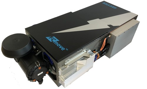 Ballard's FCmove(TM) 8th-generation fuel cell module powers Fuel Cell Electric Vehicles (CNW Group/Ballard Power Systems Inc.)