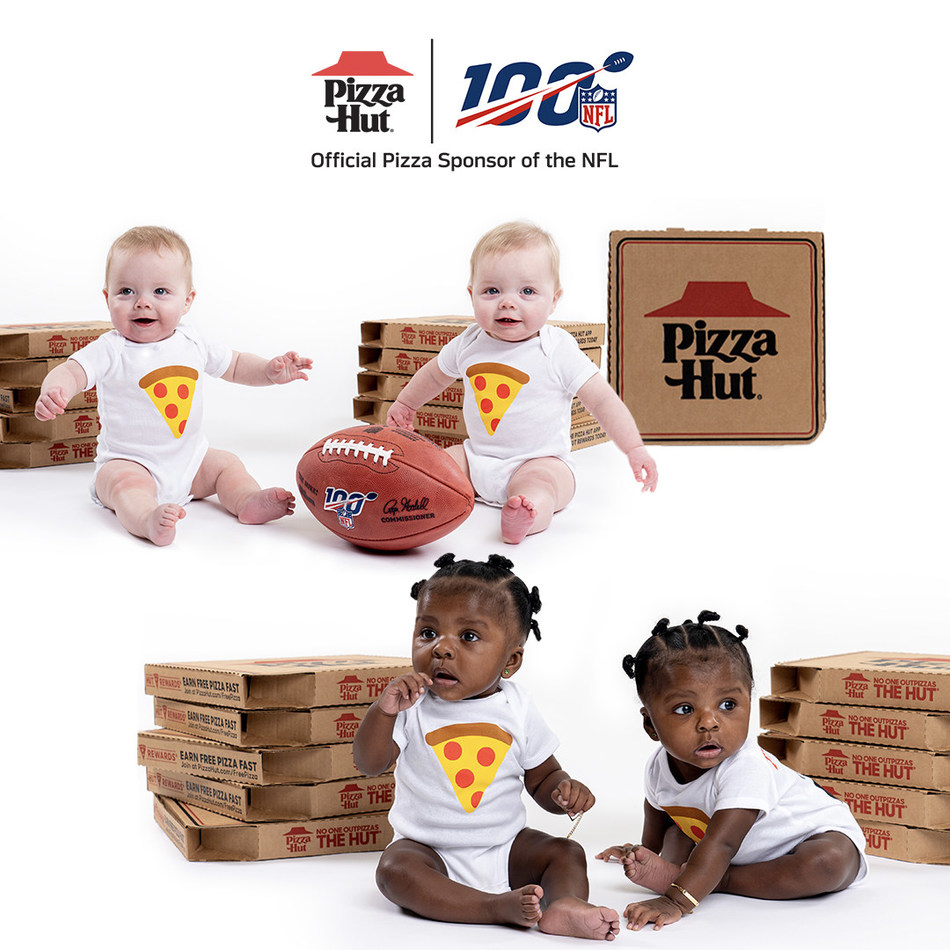 In its second year returning to the Super Bowl as the Official Pizza Sponsor of the NFL, Pizza Hut is doubling down on Super Bowl Babies by awarding the first family to welcome twins after kickoff of Super Bowl LIV with free pizza for two years, a pair of tickets to Super Bowl LV and $22,000 to jump start the twins' education funds.