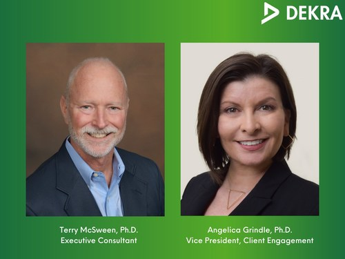 DEKRA OSR has announced that safety experts Angelica Grindle and Terry McSween are joining their roster of industry leading safety Consultants.