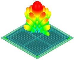 ANSYS HFSS includes industry-first technology for phased array simulation.