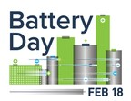 Lead Battery Industry Invites Global Use Of Free, New Logo To Honor National Battery Day, February 18