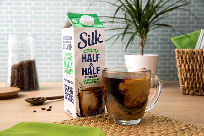 Silk® Introduces NEW Plant-Based Half & Half Alternative