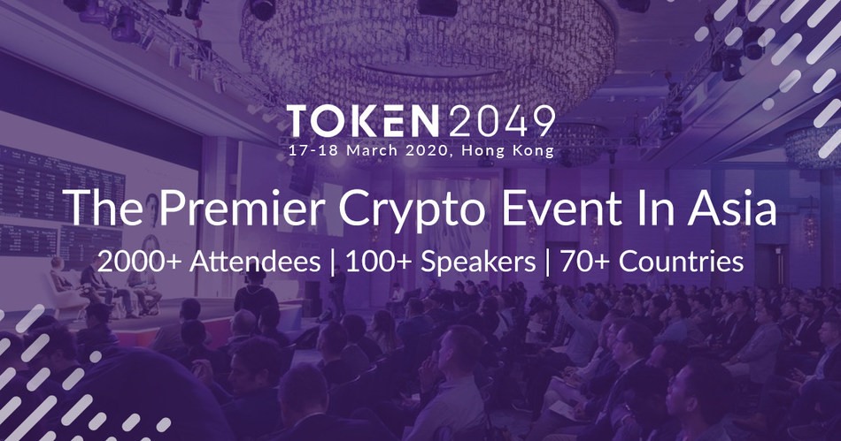 TOKEN2049 is Back for 2020, Examining What's Next for the Crypto Industry (PRNewsfoto/TOKEN2049)