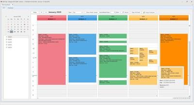 MIE Trak PRO ERP Scheduling Module (Planning Board)