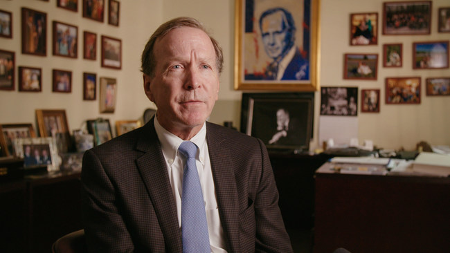 Neil Bush in an interview with People's Daily Online