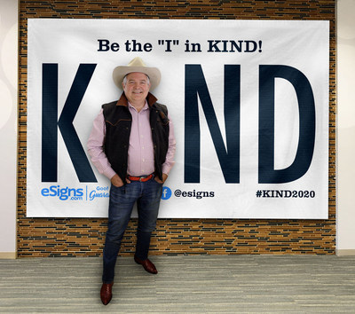 Be the 'I' in Kind with eSigns.com! Check out www.Kind2020.com for more details! #KIND2020