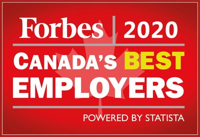 Canada's Best Employers are chosen based on an independent survey conducted by Statista of more than 8,000 Canadians working for companies with more than 500 employees. (CNW Group/WESTJET, an Alberta Partnership)