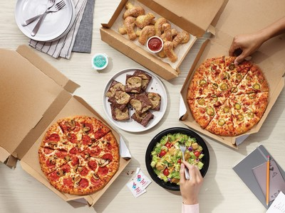 Looking to score big with your friends and family when it comes to the game day feast? Domino's has you covered, thanks to its $5.99 mix and match deal.