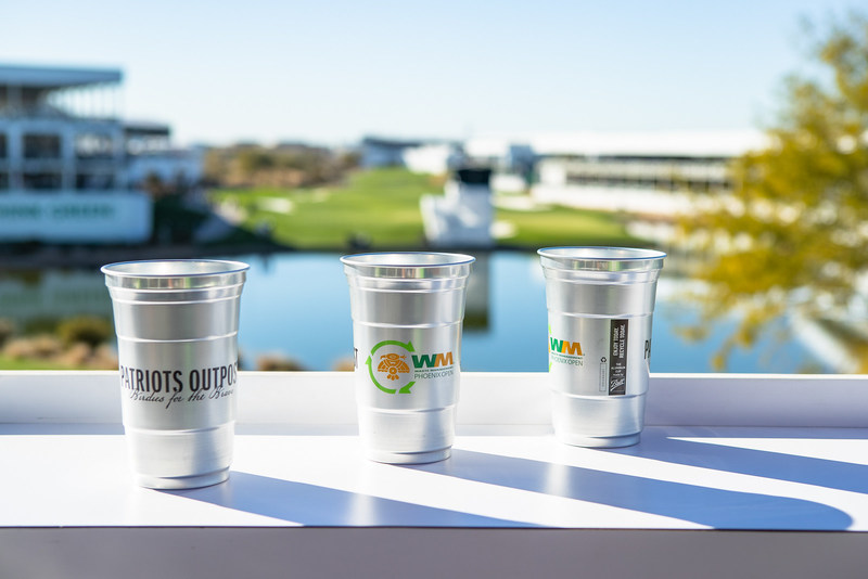2020 Waste Management Phoenix Open to feature Ball Corporation's infinitely recyclable aluminum cups