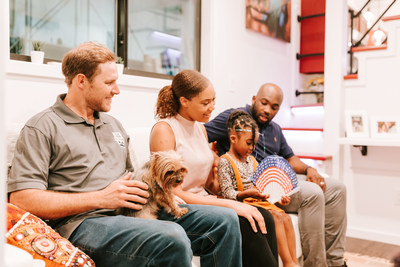 Innis family settles into new Tiny Home