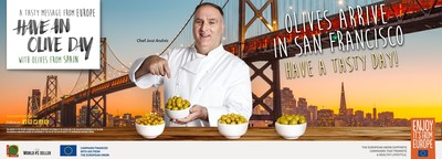 ?Have an Olive Day? campaign makes its final stop in San Francisco with prestigious Chef José Andrés