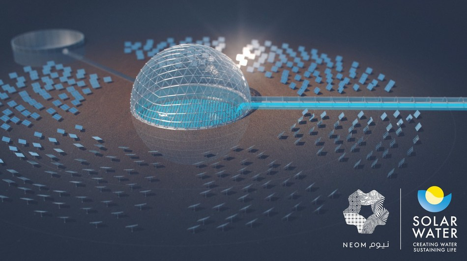 NEOM Adopts Pioneering Solar Dome Technology for Sustainable Desalination Project