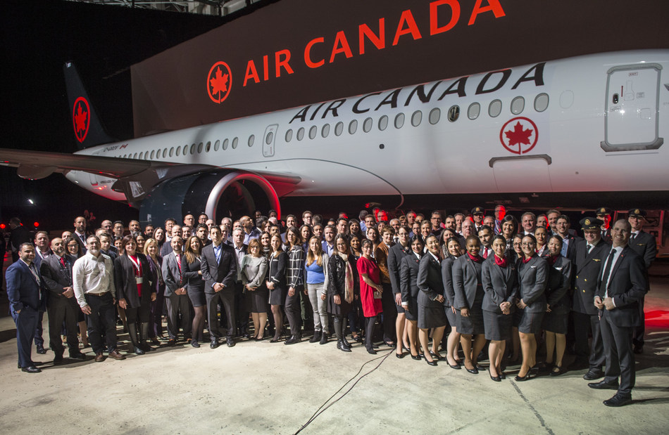 "Air Canada today was named one of ""Montreal's Top Employers"" for the seventh consecutive year in Mediacorp Canada Inc's annual employer survey. (CNW Group/Air Canada)"