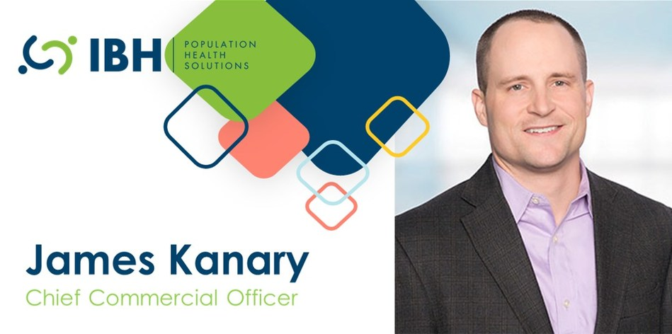 IBH announced James Kanary as new Chief Commercial Officer, January 29, 2020.