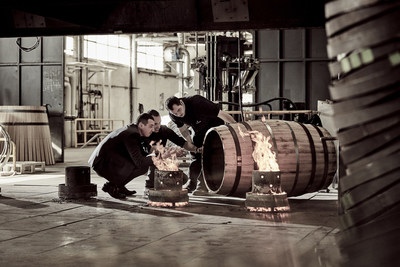 LOUIS XIII COGNAC – Last sequence of the tierçon making