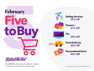 RetailMeNot's Five to Buy in February