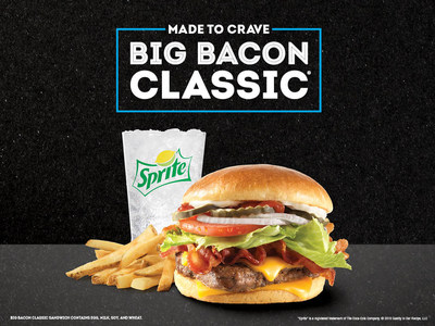 Wendy's Big Bacon Classic – a 90s favorite – is back as the latest addition to the Made to Crave lineup.