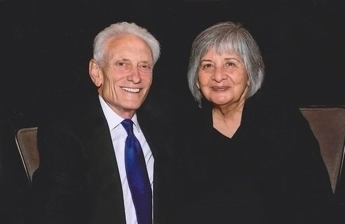 Pictured (R to L): Virginia and Frank Maas