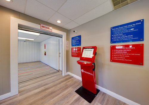 An example of 10 Federal's automated leasing center