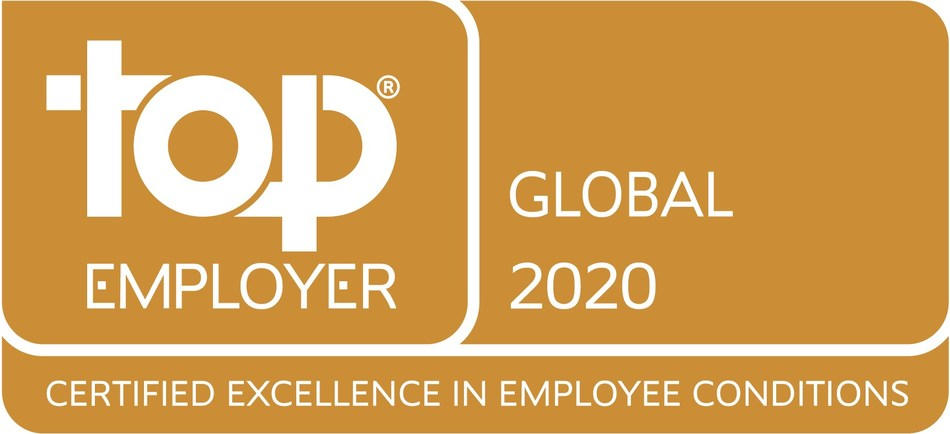 Top Employer logo (PRNewsfoto/JTI)