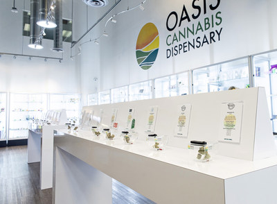 Oasis Cannabis Dispensary, Las Vegas, NV (CNW Group/CLS Holdings USA Inc)