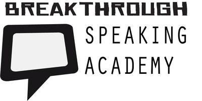 Breakthrough Speaking Academy Logo