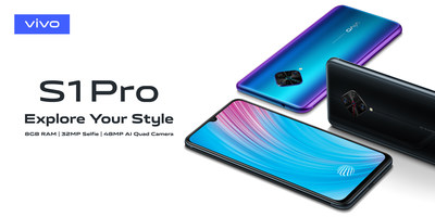 S1 Pro in Glowing Night and Nebula Blue designs