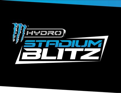 Monster Hydro Stadium Blitz Logo