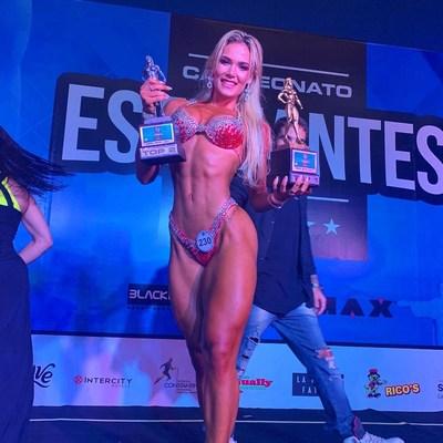 Patrícia Parada é considera atleta revelação do fisiculturismo