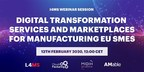 I4MS Showcases New Technologies and Marketplaces to Facilitate the Digital Transformation of European SMEs