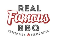 Real Famous BBQ Logo