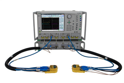 The Anritsu VectorStar™ ME7838G is the first vector network analyzer (VNA) capable of conducting 70 kHz to 220 GHz measurements in a single sweep,