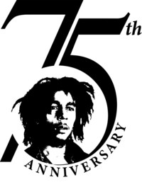 The Marley Family, UMe and Island Records announce yearlong 75th birthday commemorative plans for legendary icon Bob Marley. Marley75 to feature special releases, live performances, plus rare and unreleased material from the Marley family vaults and private collection. 40th Anniversary of 'Redemption Song,' celebrated with new music video premiering on YouTube. (PRNewsfoto/Island Records/UMe)