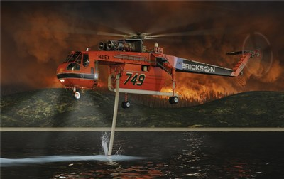 Erickson Announces The S-64F+ Air Crane® Helicopter