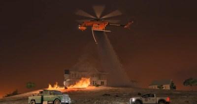Erickson IncorporatedとSikorskyが将来の消防に取り組む開発契約を締結