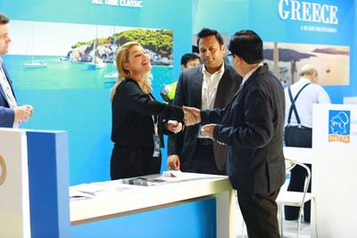 The Greece Pavillion at OTM Mumbai 2019