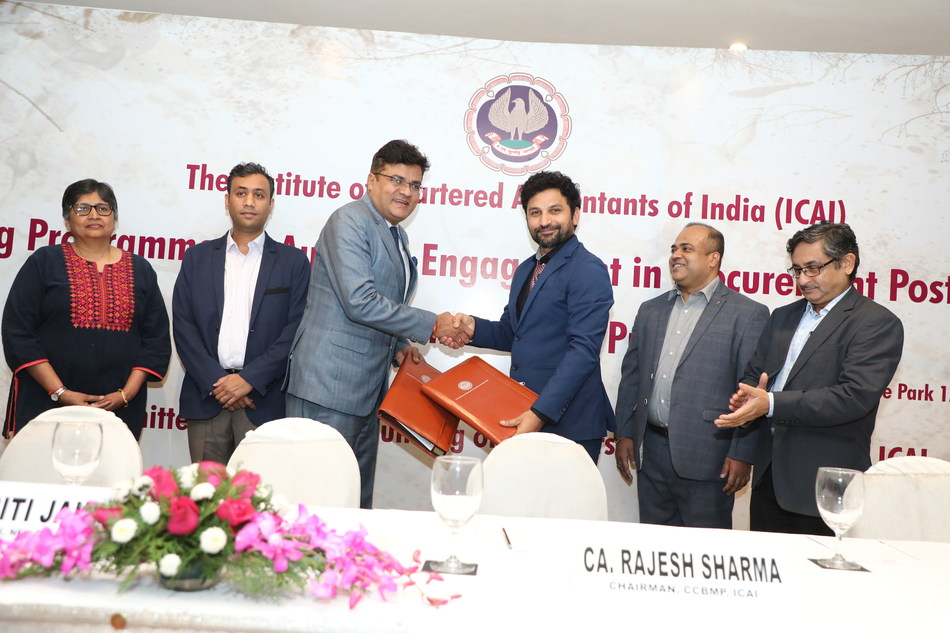 HostBooks Signs MoU With ICAI to Promote Technology Automation Among Chartered Accountants