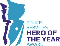 Police Services Hero of the Year Award logo (CNW Group/Police Association of Ontario)