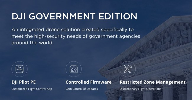 AirWorks is a DJI Dealer that works for government applications with drones