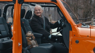 "Bill Murray reprises ""Groundhog Day"" film role for Jeep brand's Super Bowl Commercial"