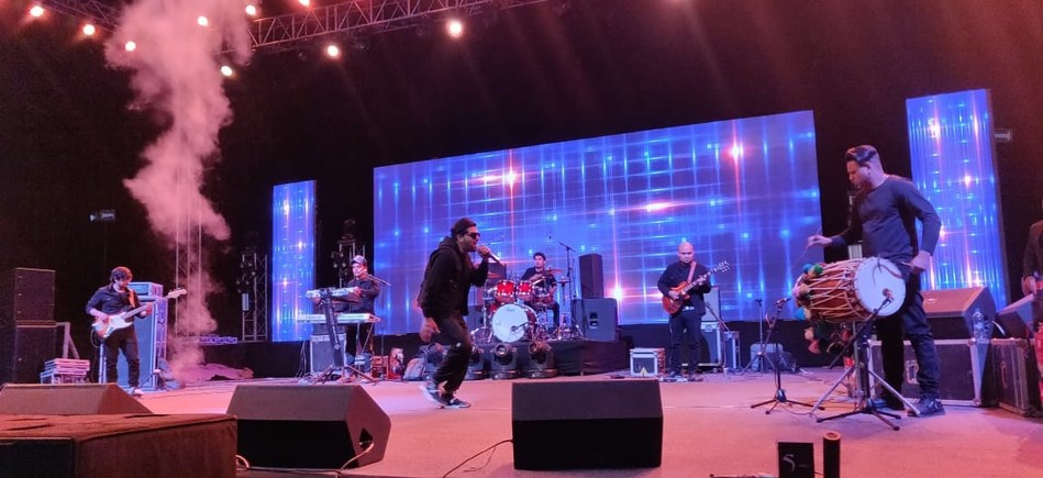 Guru Randhawa's performance at IIM Udaipur