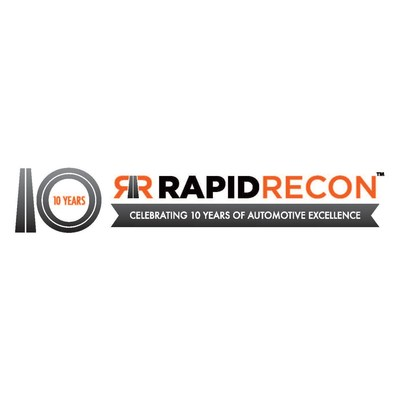 Auto Reconditioning Time-to-Line (T2L) Creator Rapid Recon celebrates 10 years with introduction at NADA '20 of two new workflow accountability and productivity products and release of latest vehicle inventory turn business book, Inventory is a Waste. (PRNewsfoto/Rapid Recon)