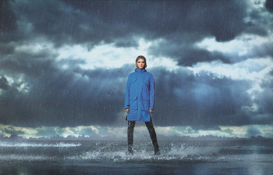 Upton makes her debut as the face of the brand's Spring 2020 global campaign, supporting Polar Bears International (CNW Group/Canada Goose)