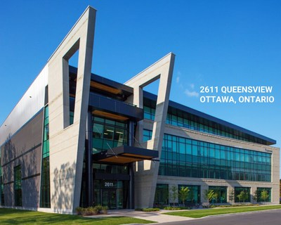 BTB's new acquisition: 2611 Queensview Drive in Ottawa (CNW Group/BTB Real Estate Investment Trust)