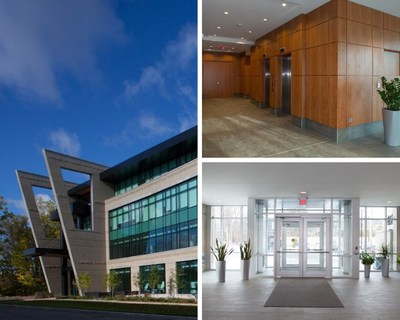 Inside look at BTB's new acquisition at 2611 Queensview Drive in Ottawa (CNW Group/BTB Real Estate Investment Trust)