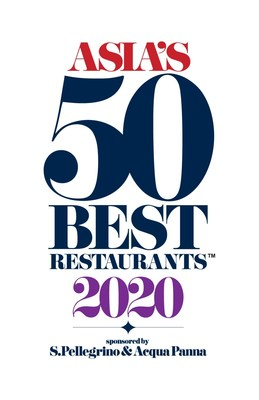 Asia's 50 Best Restaurants 2020 Logo (PRNewsfoto/Asia's 50 Best Restaurants 2020)