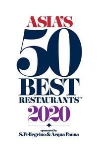 Asia's 50 Best Restaurants 2020 Logo (PRNewsfoto/Asia's 50 Best Restaurants 2020)