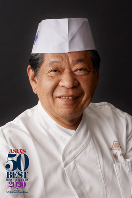 Chef Yoshihiro Murata Honoured With American Express Icon Award